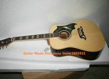 Natural DOVE Electric Acoustic Guitar with EQ New Arrival High Quality Top Musical instruments