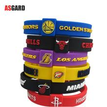ASGARD Basketball Team Sports Wristbands Silicone Fitness Thickening Size Can Adjustable Wristband Energy Bracelet Wholesale