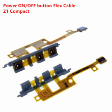 Repair Power ON/OFF Button Flex Cable For Sony xperia Z1 Compact mini M51W D5503 Volume Switch Button Flex cable(China)
