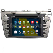 NaviTopia Brand New 1024*600 Quad Core 16G 7'' Pure Android 4.4.4 Car PC for Mazda 6 Car DVD Multimedia Player(China)