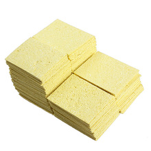 100Pcs Super Warming Heat-resistant Compressed Sponge for Solder Cleaning     J2Y