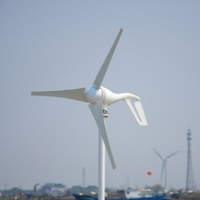 400w Wind Turbine/ Generator/ windmill for House using. Combine with wind/solar hybrid controller(LCD display).(China)