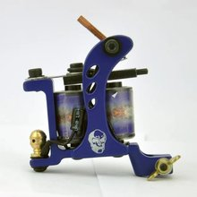 Irons Custom Chrome Tattoo Machine For Beginner Tattoo Apprentice Machine Coil Guns For Liner