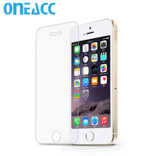 ONEACC Tempered Glass for iPhone X 8 8plus 7 7plus Glass for iPhone 6 6plus Screen Protector For iPhone 5 5s 4 4s wholesale(China)