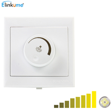 Silicon controlled rectifier dimmer switch AC220-240V 300W led dimmer light wall switch dimmer