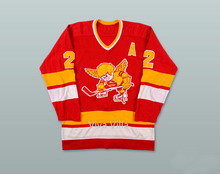 Throwback Hoceky Jersey 2 Bill Butters 1972-73 Fighting Saints Jersey 100% Stitched Embroidered Ice Hoceky Jerseys Viva Villa(China)