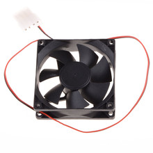 80*80*25 MM Personal Computer Case Cooling Fan DC 12V 2200RPM 45CM Fan Cable PC Case Cooler Fans Computer Fans(China)