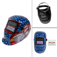 Welding Mask Solar Auto Darkening Helmet Cap Arc Tig Mig Grinding US Eagle(China)