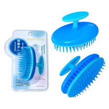 Beauty Plastic Shampoo Scalp Shower Hair Combs Massager Body Washing Hair Massage Comb Hair Brush Styling Tools(China)