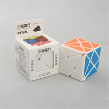 YJ Strange-shape Puzzles Cube PVC Stickers Action Figures Intellectual Toy Super Axis Cube Learning & Education  Plaything