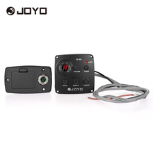 JOYO JE-303 Acoustic 3-Band EQ Equalizer Guitar Piezo Pickup Preamp Tuner System with LCD Dispaly(China)