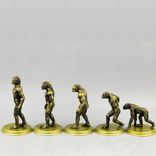 Exempt Postage Darwin's Theory Of Evolution high cost performance The Origin Of Human Being Teaching props model 5cm-11cm(China)