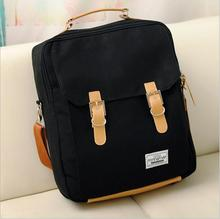 New lady backpack school bag Canvas casual laptop backpack Girls bag student bags Manufacturer wholesale(China)