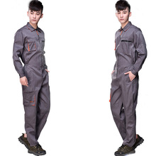 Unisex Work Wear 4S Car Auto Shop Staff Uniform Welding Worker Coveralls Machinist Work Clothing Overalls for Women Men Cheap(China)