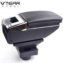 Vtear для Citroen C4 подлокотник коробка центральный магазин коробка содержание продуктов интерьера автомобиль-Стайлинг украшения хранения цент...(China)