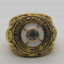 1935 Detroit Tiger World Series Replica Championship Ring(China)
