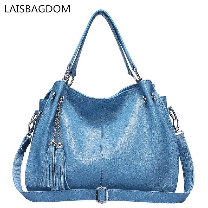 2018 Fashion Women Genuine Leather Handbags Designer Bag Famous Real Leather Bag Ladies Crossbody Messenger Shoulder Handbag<br>