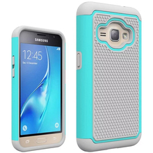 Hybird Armor Silicone Football Pattern Shockproof Back Cover For Samsung Galaxy J1 2016 Case Plastic Fundas Coque