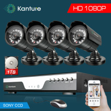 SONY CCD 2MP 1080P AHD CVI waterproof Security Camera System 4CH Full 1080P DVR CCTV Video Surveillance KiT USB 3G WIFI Alarm