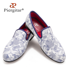New Fashion Camouflage Men Smoking Slippers Men Slip-On Loafers Plus size Men Casual Flats shoes Size US 4-17 Free shipping(China)
