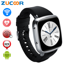 5MP Camera Smart Watch Support 3G Wifi/GPS/WCDMA SIM TF Card Android Smartwatch MP3 Intelligent Sport Clock 512MB+4GB Heart Rate