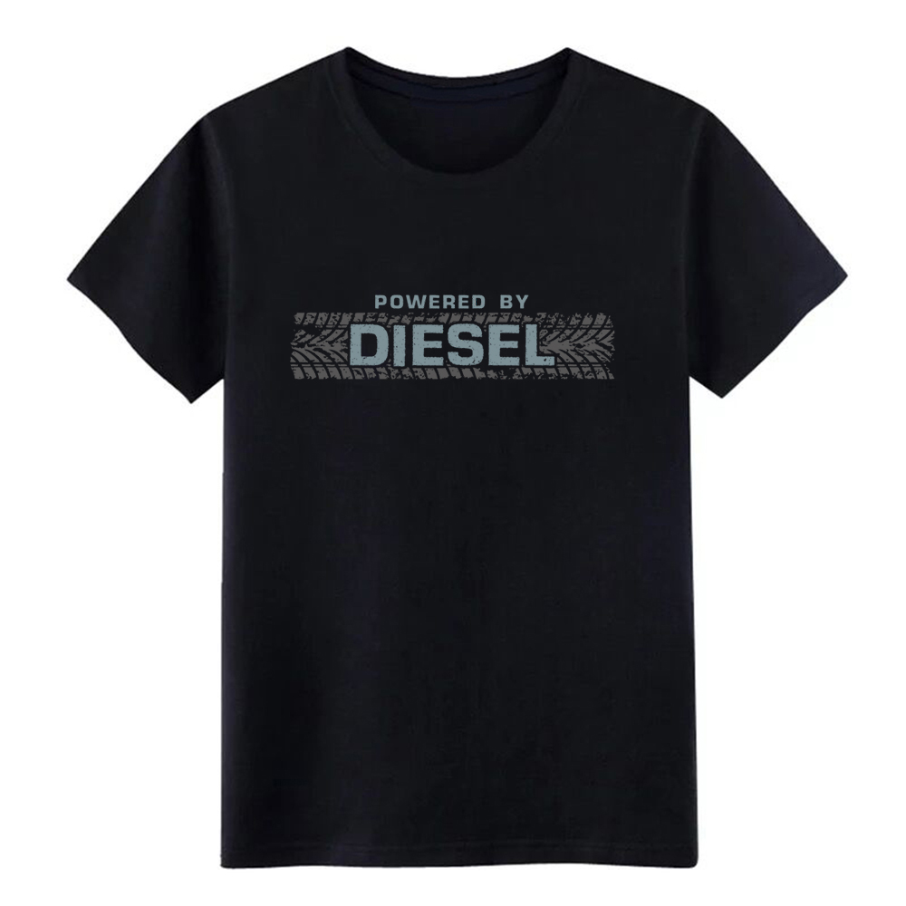 Men's Diesel fanatic t shirt Custom Short Sleeve O Neck Normal Sunlight Building Summer Style Leisure shirt(China)