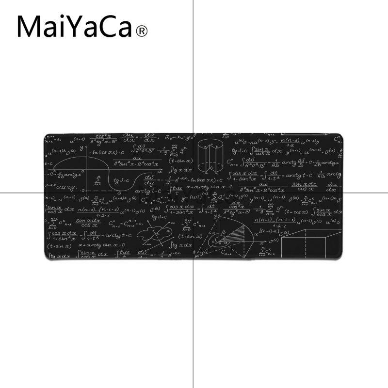 MaiYaCa Boy Gift Pad Geometric formula mouse pad gamer play mats Large Gaming Mouse Pad Lockedge Mouse Mat Keyboard Pad 10