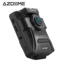 Azdome GS65H Dual Lens Car DVR Novatek 96655 Car Camera 1920x1080P Full HD Dash Cam Built-in GPS Video Recorder Night Vision H46(China)