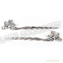 15x Last Design +  Metal Alloy Silver Plated FIsh Bookmarks For Beading Gift Craft Handmade 129*22*3mm 160741