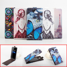 Buy Fashion Colorful Pattern Flip Leather Cover Case Doogee Homtom HT3 / HT3 Pro Vertical Back Cover Magnetic Protective Shell for $6.29 in AliExpress store