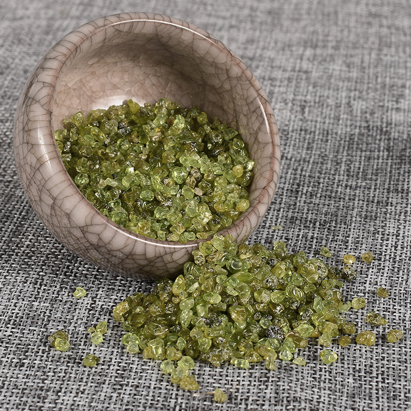 Extra 10Gram Free 100 Gram Natural Oliven Gemstone Mineral ...
