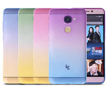 Letv Le 2 Le2 Pro Le Max 2 case cover Le X620 X20 X820 X527 Clear Transparent soft TPU silicone shell gradient back cover