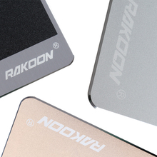 Zimoon Store Aluminium Alloy Gaming Mouse Pad With Non-Slip Rubber Bottom Creative Metal Mouse Mat Mousepad For LOL Office Work