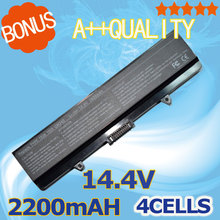 2200mah laptop battery  For DELL Inspiron 1525 1526 1545 0RW240 0UK716 0WK371 0WK380 0WK381v 0WP193 0XR682 0XR693 0XR694 0XR697