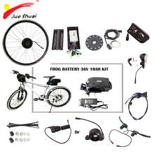 "36V 250W 350W 500W Electric Bike Conversion Kit with Lithium Battery 36V 10ah 20"" Folding Bike Bicycle 26"" MTB Ebike Motor Kit(China)"