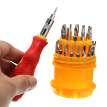 31 in 1 Magnetic Mini Screwdriver Bits Torx Kit Phone Watch Laptop Repair Tool Kits Multifunction Screwdriver Hand Tools Mayitr