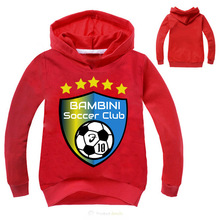 Z&Y 3-16Years BAMBINI SOCCER CLUB LOGO Clothing Children Outerwear & Coats Kids Clothes Childrens Windbreaker Kids Coat Z201