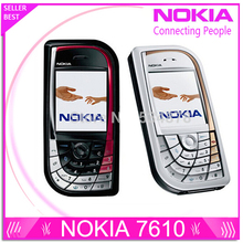 Refurbished Nokia 7610 original mobile phone Good quality low price cell phones free shipping(China)
