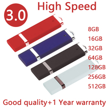 NEW Memoria USB 3.0 USB Flash Drive 512GB 256GB Pen Drive 64GB 32GB Pendrive 512 GB 8GB USB Stick 128GB Disk On Key 16GB Gift(China)
