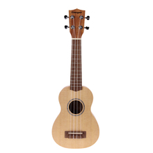 High Quallity 21 inch Spruce Wood Fretboard Ukulele with Aqulia String and Ukulele Bag Musical Instruments New