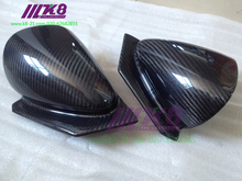 Carbon Fiber  Mirror Cover  for  Mitsubishi Lancer EVO 7 8 9