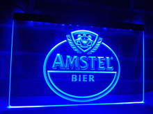 LA024- Amstel Beer Bar LED Neon Light Sign home decor crafts(China)