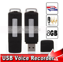 New Mini 8GB USB Driver Digital Audio Voice Recorder U Flash Disk dictaphone