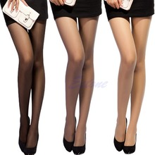 High Tights Sexy PantyhoseLeggings Long Stockings Female Transparent Thin Silk Semi Sheer Panties Girl Full Foot Slim Women W715(China)
