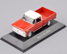 1/43 Scale Diecast Ford F-100(1978) Car Vehicle Model Collections Car Kids adult Toys brinquedos Collectible boys Gifts