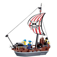 Models building toy 30003 Pirates Of The Caribbean Prevent Ship 197pcs Building Blocks compatible with lego toys & hobbies(China)