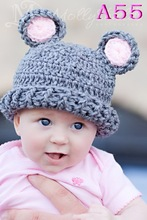 Baby Winter Hat Free Crochet Pattern Hat Knitted Hat Beanie Hat(China)