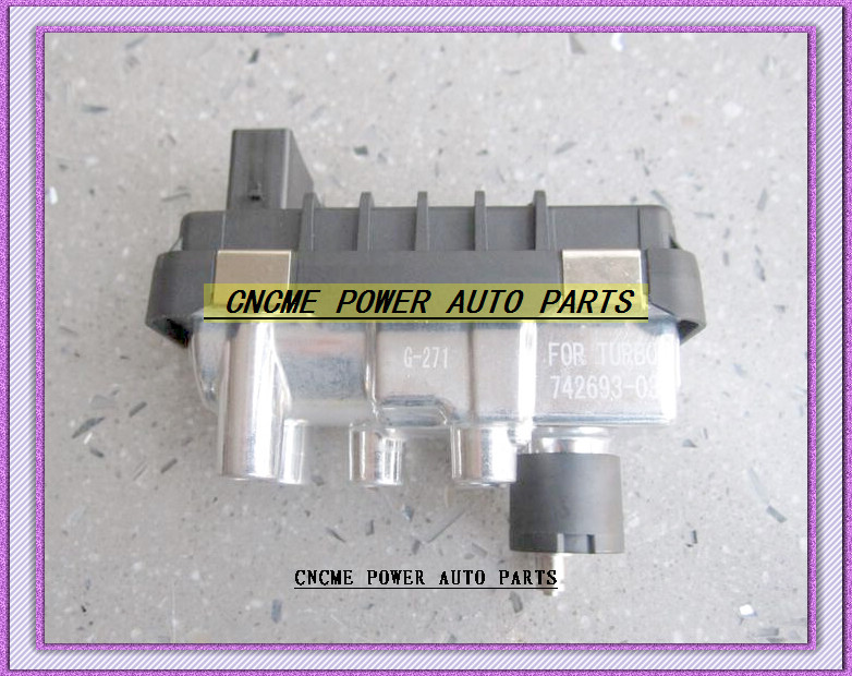 Turbo Electronic Actuator Electric BOOST Actuator G-271 G271 712120 6NW008412 6NW-008-412 6NW 008 412 For 727461-50006S (5)