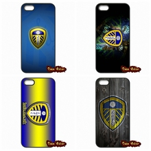 For Apple iPhone 4 4S 5 5C SE 6 6S 7 Plus 4.7 5.5 iPod Touch 4 5 6 leeds united LOGO Phone Case Cover