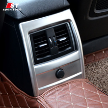 Car Rear Air Conditioner Trim For BMW 3/GT/4 Series F30/F31/F34/F32/F33/F36 Air Vent Outlet Sticker For BMW Accessories Styling(China)